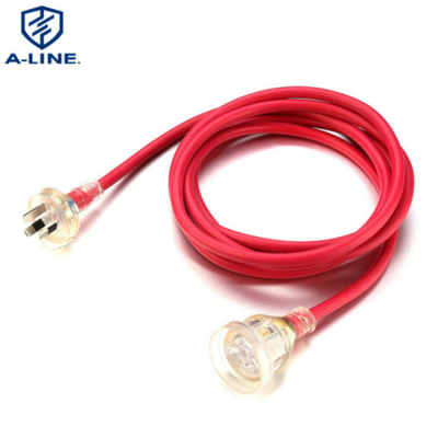 Professional Supplier Australia 10A 250V Extension Cord with LED Light