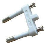 2.5A 250V VDE Approved European Plug Insert (AL-401)