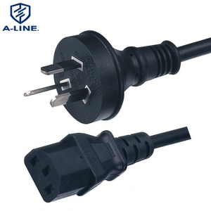 SAA Approved Australian 3 Pins Power Extension Cord with C13 Connector