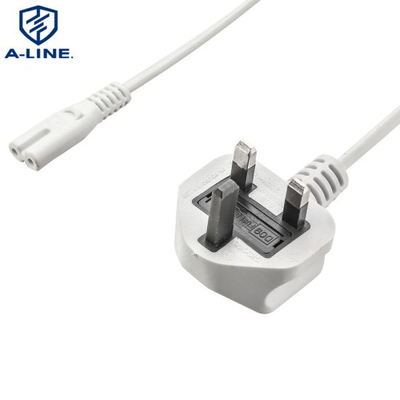 UK Power Cord with C7 Connector