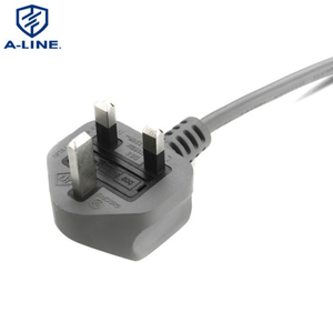 Hot Sale 3 Pin PVC Insulated UK Power Cord Supplier