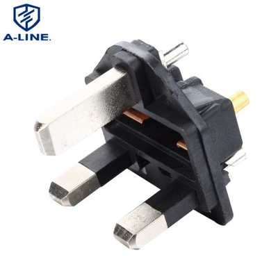 3-Pin Plug Insert with According to British Standard
