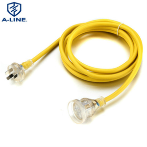 Multifunctional Australia 10A 250V Extension Cord with LED Light