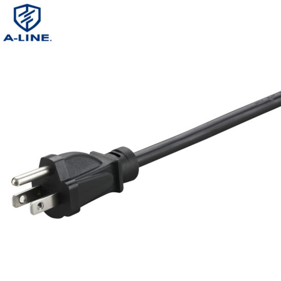 Professional Manufacturer American 3 Pin Extension AC Power Cord
