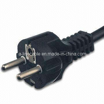 OEM VDE Approved Straight Three Pins Power Cords (AL-154)