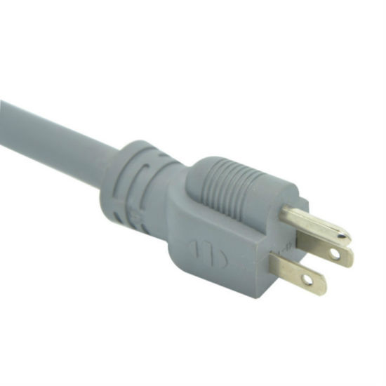 Factory Price UL Approved 3 Pin 125V AC Power Cord
