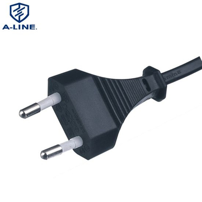 VDE Approved European 2 Pins Computer Power Cord Factory